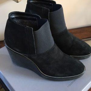 Aquatalia Suede leather booties